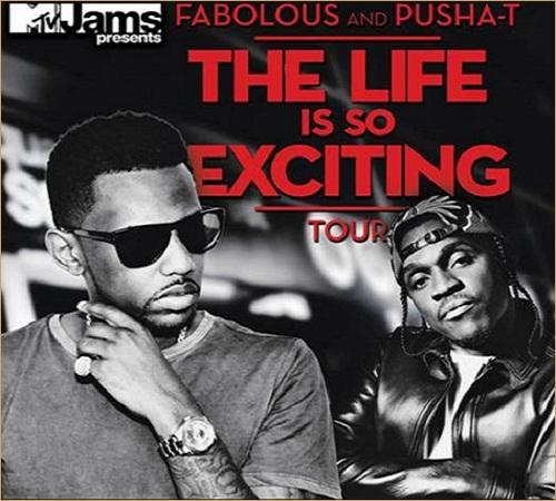 Fabolous & Pusha T Sets Tour Dates